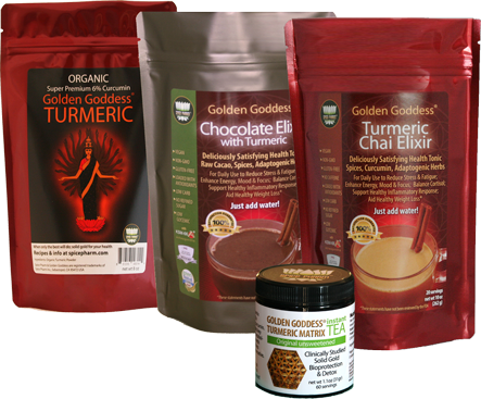 Golden Goddess Turmeric Products are excellent support for daily detox!
