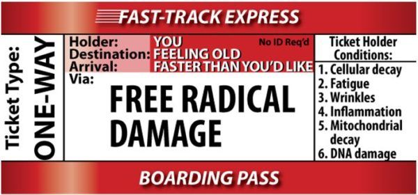 Free Radical Damage - Fast Track to Aging
