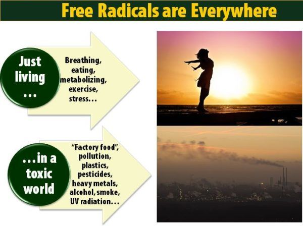Free radicals are everywhere