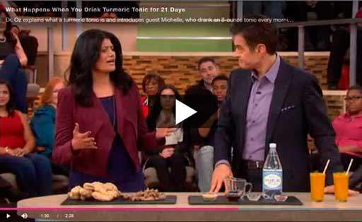 Play Dr Oz Turmeric for 21 Days
